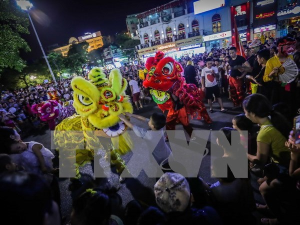 Mid-autumn Full Moon Festival to light up cities hinh anh 1