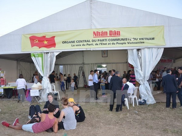 Vietnam attends L'Humanite newspaper festival in France hinh anh 1