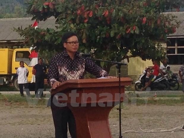 Indonesia repatriates biggest number of Vietnamese fishermen hinh anh 1