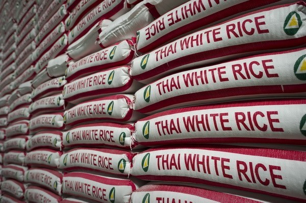Thai Gov't to sell 755,000 tonnes of stockpiled rice hinh anh 1