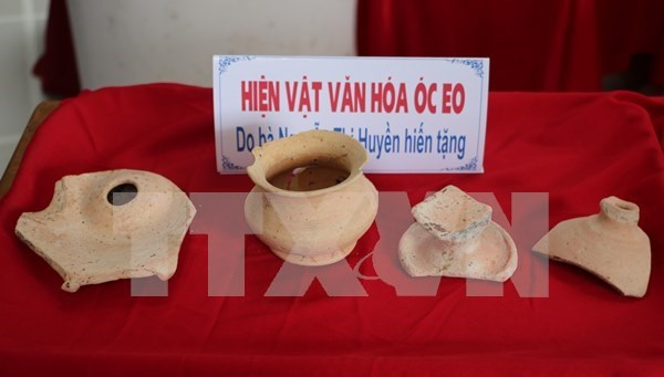 Book on An Giang Oc Eo cultural heritage debuts hinh anh 1