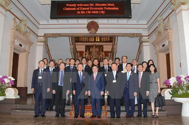 HCM City hopes to be trustworthy business destination of Japan hinh anh 1