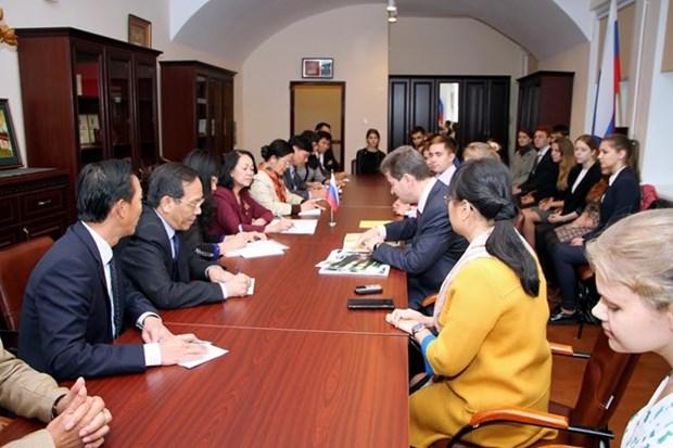 HCM Institute – bridge of Vietnam-Russia relationship hinh anh 1
