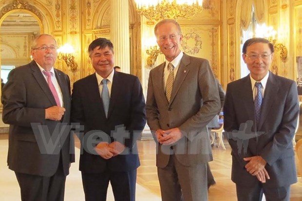 Vietnam boosts cooperation with German state hinh anh 1