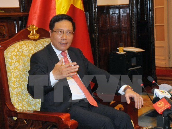Deputy PM Minh attends NAM Summit in Venezuela hinh anh 1