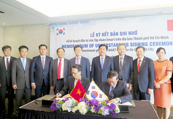 "HCM City, ""magnet"" to attract investment from RoK's conglomerates hinh anh 1"