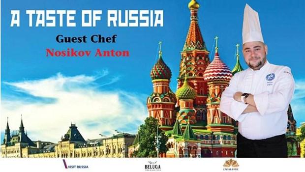 Russian food week in Hanoi hinh anh 1
