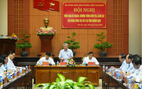 Committee inspects Quang Nam's anti-corruption hinh anh 1