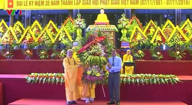 Thua Thien-Hue celebrates Buddhist Sangha's anniversary hinh anh 1