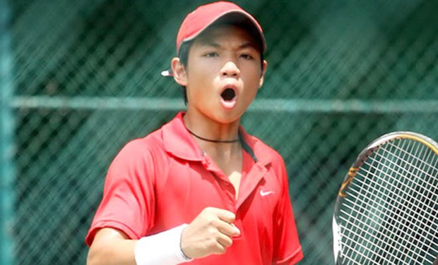 Thien beats fifth seed in Men's Futures hinh anh 1