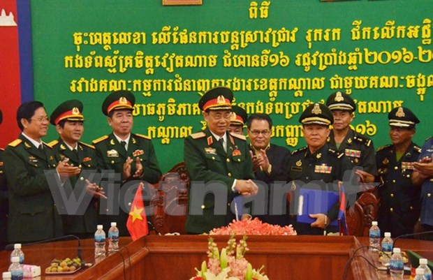 Cambodia locality continues search for Vietnamese soldiers' remains hinh anh 1