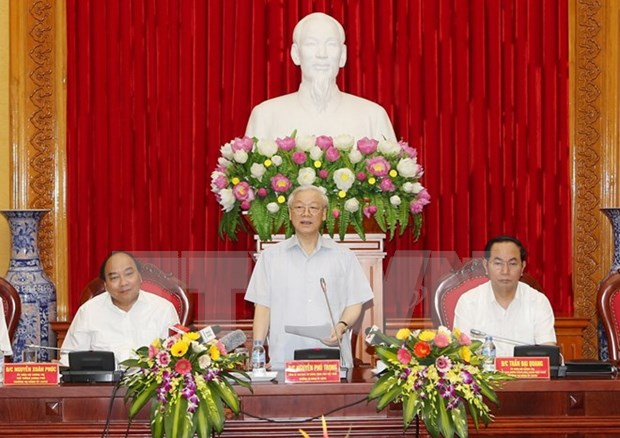 Politburo appoints Police Party Central Committee hinh anh 1