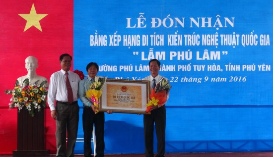 """Lam Phu Lam"" in Phu Yen recognised national architectural relic hinh anh 1"