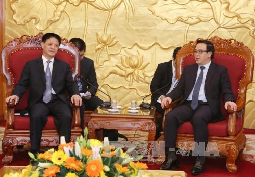 Chinese Communist Party delegation visits Vietnam hinh anh 1