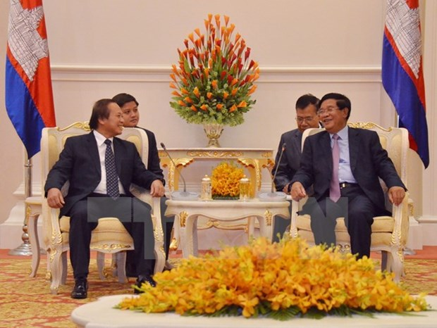 Vietnam, Cambodia to boost information exchanges hinh anh 1