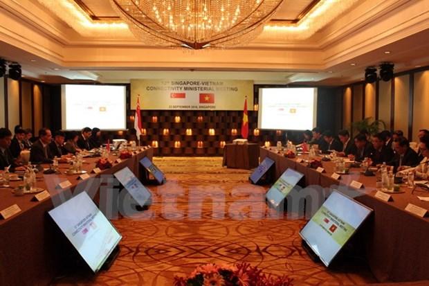 Vietnam, Singapore foster economic connectivity hinh anh 1
