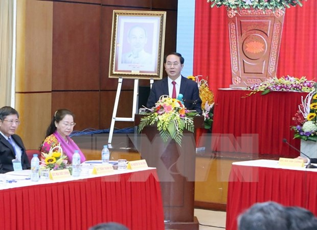 President urges reform of trade union activities hinh anh 1