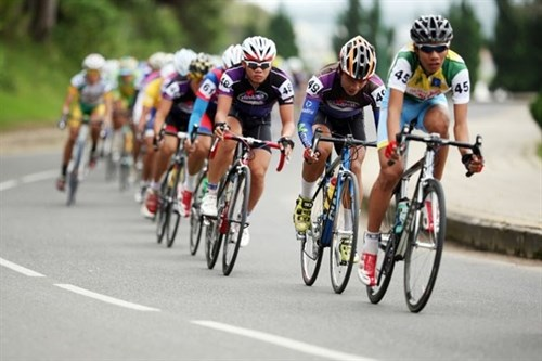 International cycling tourney held in Lao Cai hinh anh 1