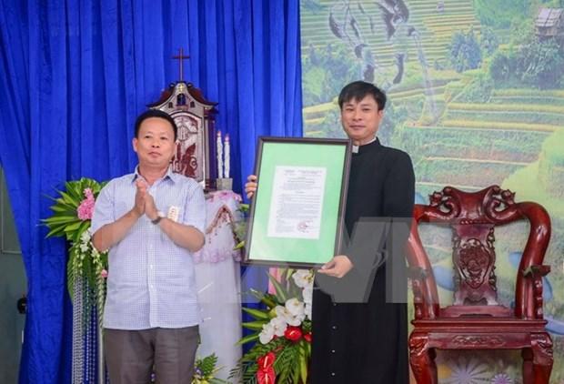 Dien Bien has first Catholic parish hinh anh 1