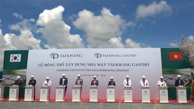 RoK group builds shoes plant in Can Tho hinh anh 1