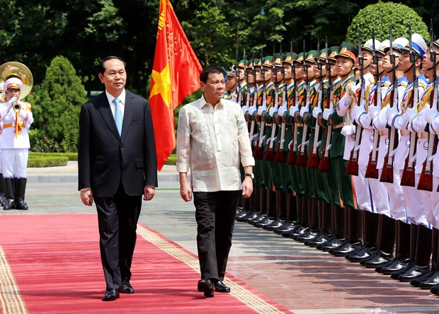 Presidents of Vietnam, Philippines vow to strengthen ties hinh anh 1