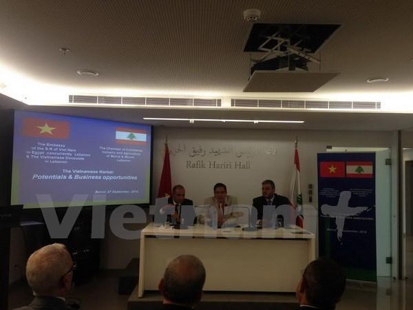 Vietnam, Lebanon seek to enhance cooperation hinh anh 1