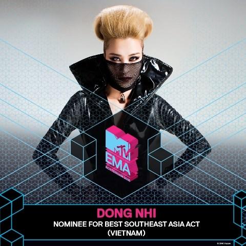 Pop star Dong Nhi to represent Vietnam at EMA 2016 hinh anh 1