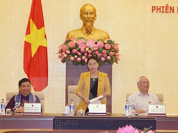 NA Standing Committee to meet again on October 3 hinh anh 1