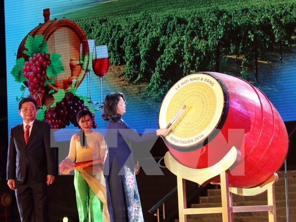 Grapes and Wine Festival opens in Ninh Thuan hinh anh 1