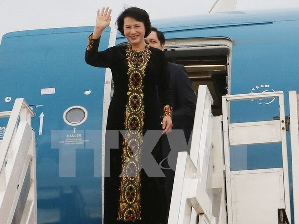 NA Chairwoman wraps up visits to Laos, Cambodia, Myanmar hinh anh 1