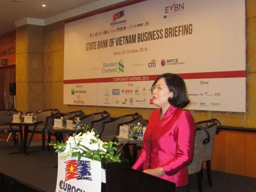 Banking sector's goals achievable: SBV Deputy Govenor hinh anh 1