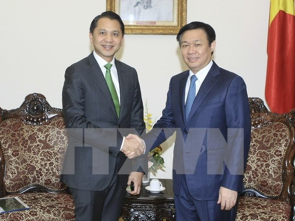 Deputy Prime Minister greets Thailand's KBank President hinh anh 1