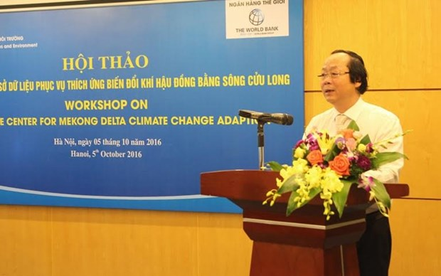 WB helps build environment data centre in Mekong Delta hinh anh 1