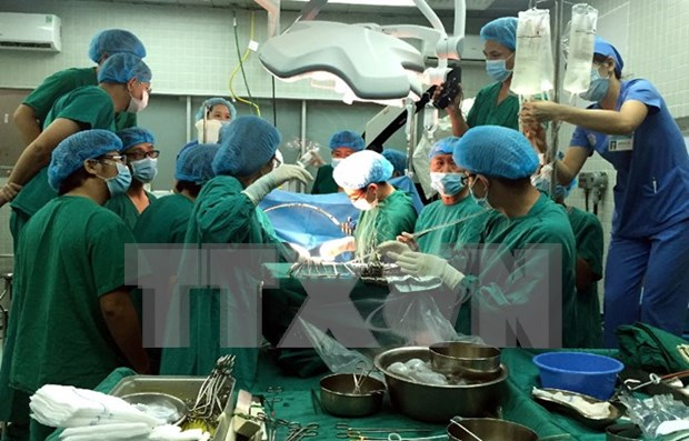 More pediatric liver transplantation in HCM City hinh anh 1