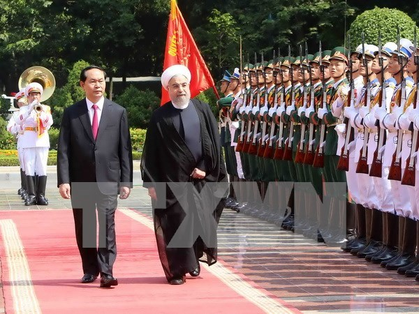 Vietnam, Iran agree on measures to boost bilateral ties hinh anh 1