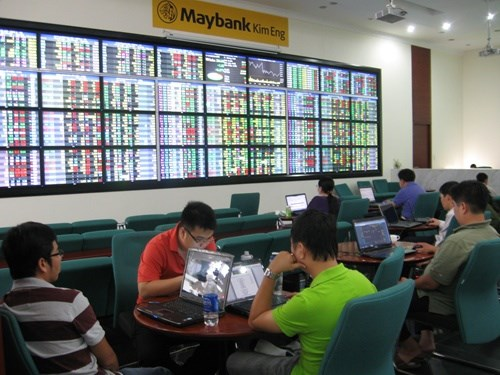 Vietnamese shares volatile on large-cap stocks hinh anh 1