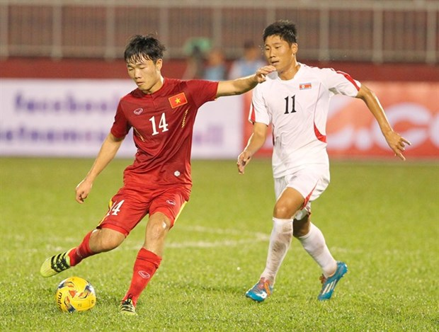 Vietnam crush DPRK in friendly football match hinh anh 1