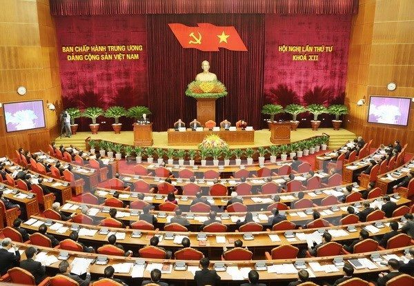 Party Central Committee convenes fourth plenum hinh anh 1