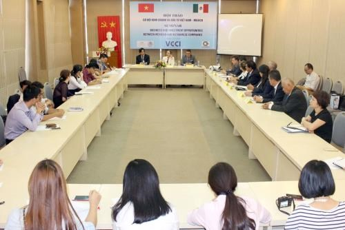 Vietnamese, Mexican businesses seek partnership from TPP hinh anh 1