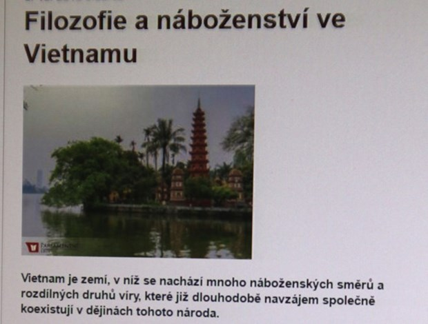 Czech newspaper highlights Vietnam's religious policy hinh anh 1