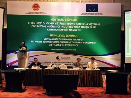 Vietnamese localities build green growth action plan hinh anh 1