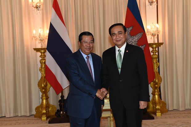 Cambodia, Thailand look to 15 bln USD trade in shortest time hinh anh 1