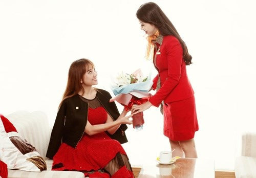 Vietjet in Women's Day ticket promotion hinh anh 1