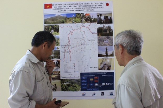 Japan-funded project helps protect transport arteries from landslide hinh anh 1