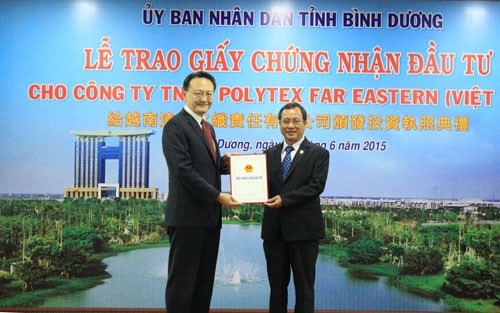 Taiwan's Far Eastern group to expand business in Binh Duong hinh anh 1