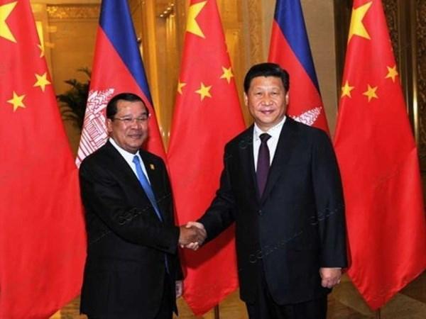 Cambodia, China deepen strategic partnership hinh anh 1