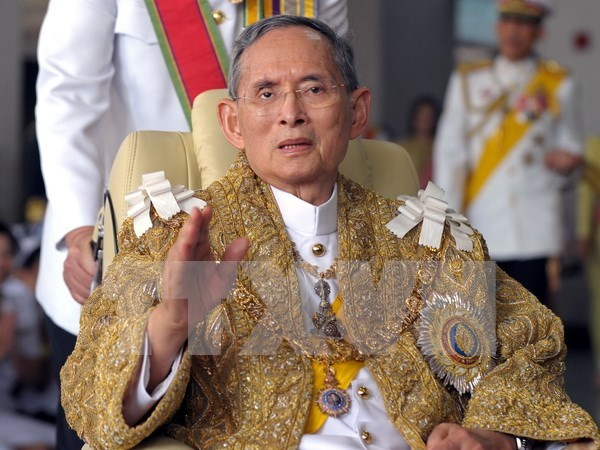 Leaders offer condolences on Thai King's death hinh anh 1