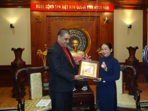 Vietnamese, Cuban youths asked to increase exchange hinh anh 1