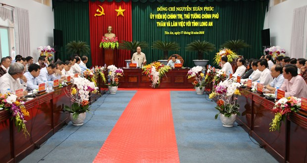 Long An urged to become one of economic centres hinh anh 1