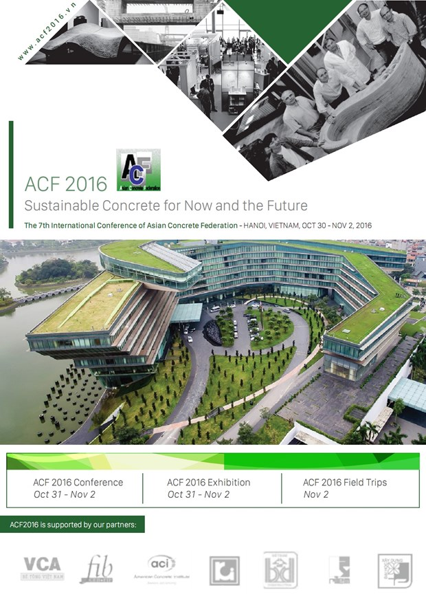 Int'l conference on sustainable concrete to open in Hanoi hinh anh 1